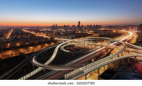Agricultural Road Overpass in Jinshui District Zhengzhou City Henan Province