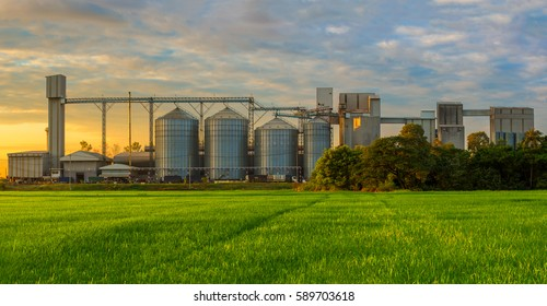 Grain Silo Images, Stock Photos & Vectors | Shutterstock