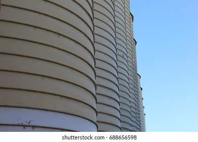 Agricultural silos tower repetition