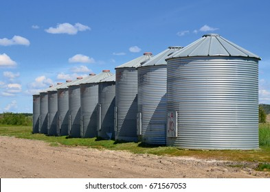 Agricultural Storage Bins
