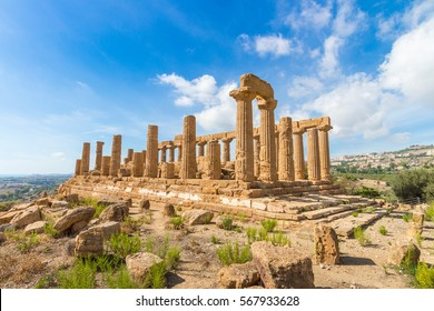 Agrigento Temple Italy Sicily