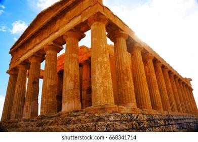 Agrigento,Sicily,Italy
