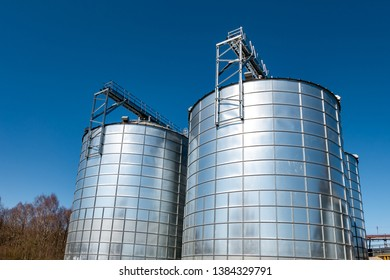 agro-processing plant for processing and silver silos for drying cleaning and storage of agricultural products, flour, cereals and grain