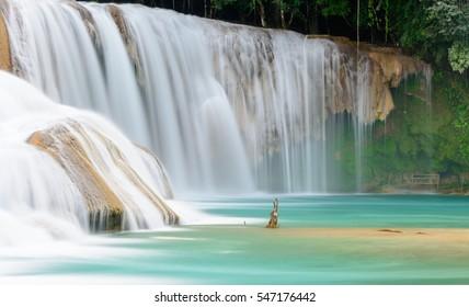 Agua Azul Waterfall, Mexico