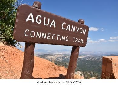 Agua Canyon at Bryce Canyon National Park in Utah