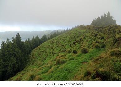 Agua de Pau Massif, Sao Miguel Island, Azores, Portugal