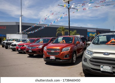 Aguascalienes, Mexico; 05/22/2020; Used Suvs for sale - Rise of SUVs sales - car dealers have endured a historically atrocious two months of sales - used cars lot - used suvs for sale / car market