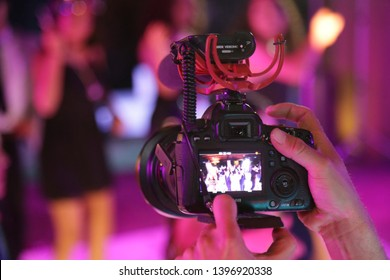 Aguascalientes, México. 03/04/2019. videographer of social events, equipment designed for recording and photography. XV years, weddings and graduations