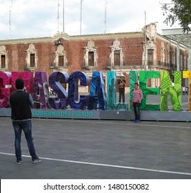 AGUASCALIENTES/MEXICO - JULY 9, 2018: Government stadium logo in the city of Aguascalientes.