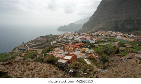 Agulo town, La Gomera, Canary Islands, Spain