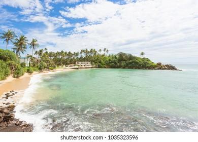Ahangama, Sri Lanka, Asia - Resting at the beatiful beach of Ahangama