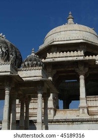 Ahar cenotaphs of the Maharanas of Mewar, Udaipur,  Rajasthan,  India, Asia