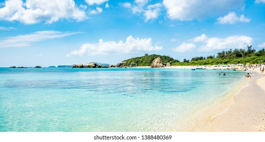 Aharen Beach, Tokashiki island,  Kerama Islands group, Okinawa, Japan