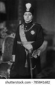 Ahmad Shah Qajar, the last Shah of the Qajar Dynasty that ruled Iran from 1796 to 1925