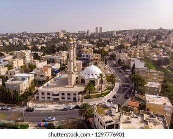 Ahmadiyya Muslim Community. Kababir. Haifa. Israel.  The Mosque is named after the second Ahmadi Khalifa Mirza Basheer-ud-Din Mahmood Ahmad.