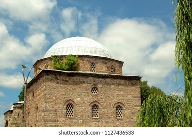 Ahmed bei mosque or still called the Christian mosque in the center of Kyustendil near the Roman baths, Bulgaria.