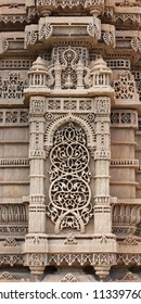 AHMEDABAD, GUJARAT / INDIA - SEPTEMBER 18 : Mosque & Tomb of Rani Sipri on September 18, 2012 in Ahmedabad. Exquisitely beautiful stone carved motifs on the minarets of the mosque built in 1514 A.D.