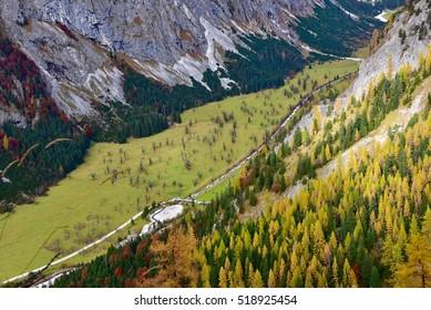 Ahornboden in Eng at Hinterriss, Austria