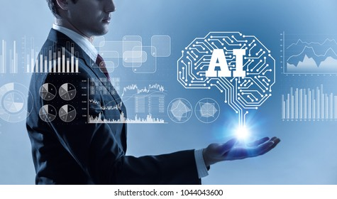 AI (Artificial Intelligence) concept.