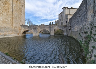 Aigues Mortes city - Bridge, Walls and Tower of Constance - Camargue - France