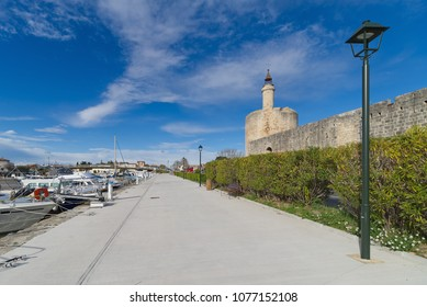 Aigues Mortes city - Walls and Tower of Constance - Camargue - France