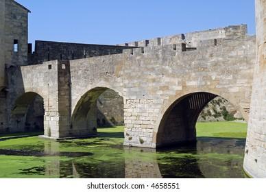 Aigues Mortes (Languedoc - Roussillon, France) - Ancient bridge
