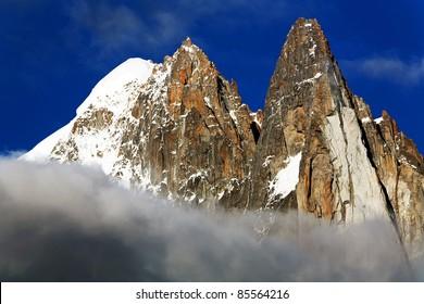 Aiguille Verte et Les Drus, Haute Savoie, France