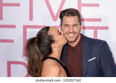 """Aijia Grammer, Andy Grammer attend """"Five Feet Apart"""" Los Angeles Premiere at Fox Bruin Theatre, Westwood, CA on March 7th, 2019"""