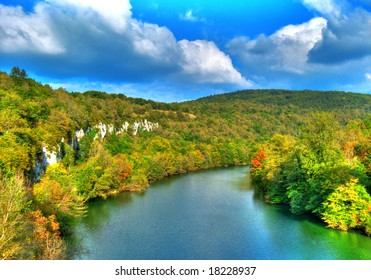 Ain Gorges at fall