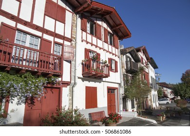 Ainhoa is one of the most beautiful villages of France. This is an ancient Basque town on October 2016