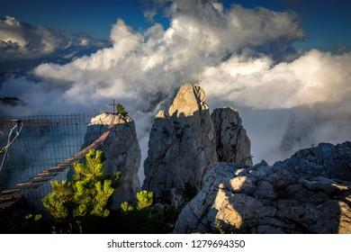 Ai-Petri mountain. Crimea