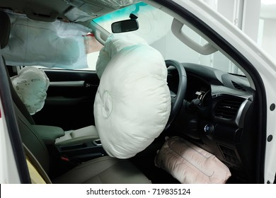 Air bags, Passive Safety Features.