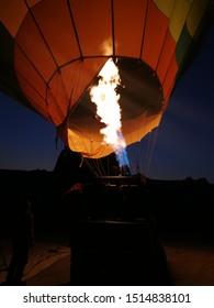 Air ballon ride in Capadocia, Turkey