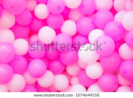 Air Balloons Background Pink Airballoons Texture Girl Birthday Or Romantic Wedding Photo Backdrop
