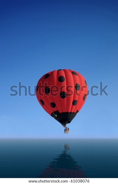 air baloon in the sky