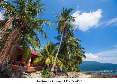 Air Batang (ABC) beach, (Pulau) Tioman Island, Malaysia