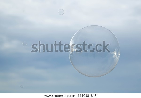 Air bubble background
