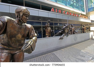 AIR CANADA CENTRE TORONTO JULY 2016: The Air Canada Center, home of the Toronto Maple Leafs (NHL) and Toronto Raptors (NBA), is a multi-purpose indoor sporting arena in Downtown Toronto. 7-27-2016