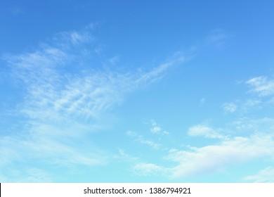 air clear blue sky background