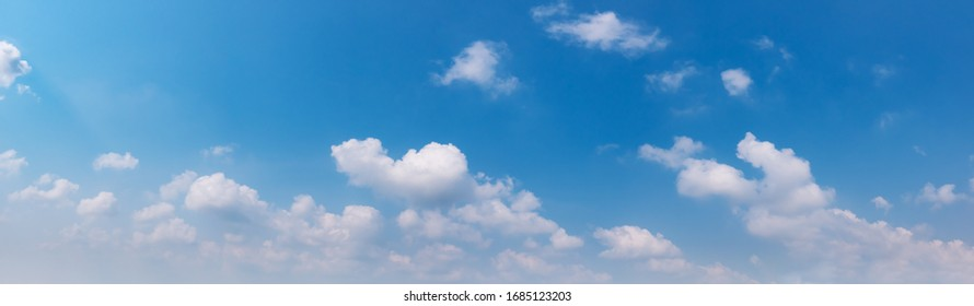 Air clouds in the blue sky.Blue backdrop in the air. Abstract style for text, design, fashion, agencies, websites, bloggers, publications, online marketers, brand, pattern, model, animation,  - Shutterstock ID 1685123203