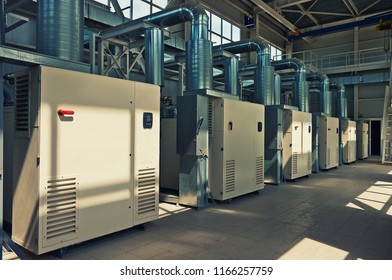 Air Compressor System Room
