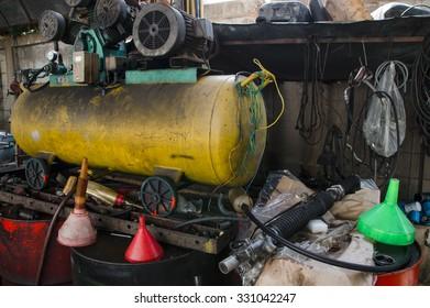 Air compressors pressure pumps