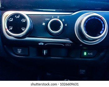 Air Condition Control Panel