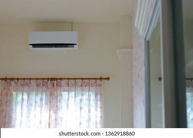 air condition cool purifier inside living room in home
