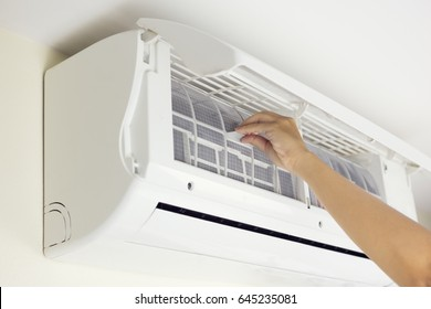Air conditioner and cleaning work.