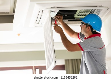 Air conditioner install