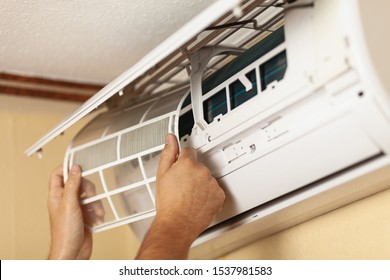 Air conditioner service, repair and clean equipment.