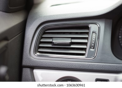 air conditioner vent on the car
