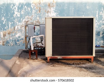 air conditioning compressor on outside 260nw 570618502 old house fuse box images, stock photos & vectors shutterstock
