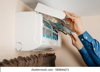 Air conditioning, a master change filters and make annual checks and inspections